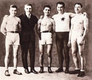 L'école de boxe de Lisanti